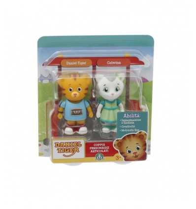 couple characters daniel tiger and Catherine DAN02000/4 Giochi Preziosi- Futurartshop.com
