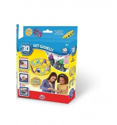 laden-Set 3d Lab schafft Schmuck GG00150 Grandi giochi- Futurartshop.com