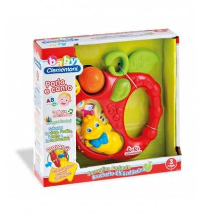 Clementoni-14852-elektronische Caterpillar Rattle Apple 14852 Clementoni- Futurartshop.com