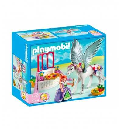 Playmobil 5144 - Cavallo alato e angolo di bellezza 5144 Playmobil- Futurartshop.com