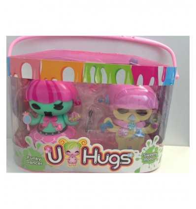 u-hugs fashion bambola funky dancer e sweety robot UHU16000/4 Giochi Preziosi-Futurartshop.com