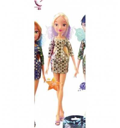Winx docka fairy glans sequin-(Stella) WNX19000/4 Giochi Preziosi- Futurartshop.com