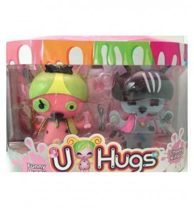 u hugs fashion bambola funny puppy e cheeky kitten UHU16000/6 Giochi Preziosi-Futurartshop.com
