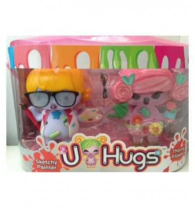 u hugs fashion doll sketchy painter and thorny flower UHU16000/5 Giochi Preziosi- Futurartshop.com