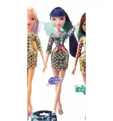 Winx doll fairy shine sequin-(Musa) WNX19000/3 Giochi Preziosi- Futurartshop.com