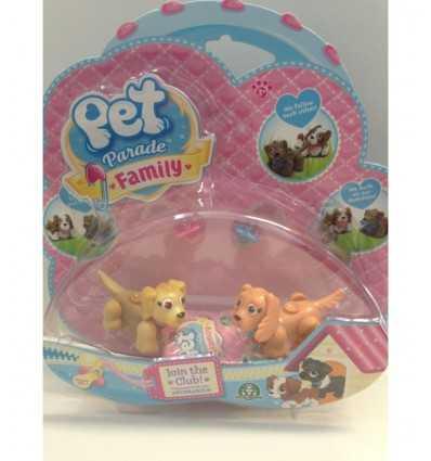 Pet parade family blister doggies beige PTF05010/1 Giochi Preziosi- Futurartshop.com