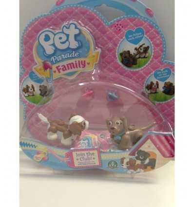 Pet parade family blister Brown doggies PTF05010/2 Giochi Preziosi- Futurartshop.com