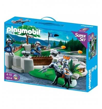 Playmobil 4014 - Super Set Baluardo dei soldati 4014 Playmobil- Futurartshop.com