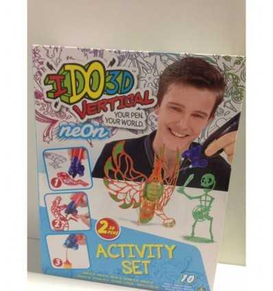 i do 3d vertical action set con 2 penne monsters verdi DDD01000/3 Giochi Preziosi-Futurartshop.com