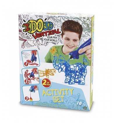 ido3d action verticale sertie de 2 stylos bleus de Savannah DDD01000/2 Giochi Preziosi- Futurartshop.com