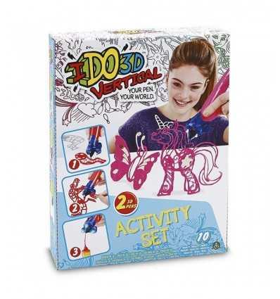 ido3d vertical action set con 2 penne farfalla rosa DDD01000/1 Giochi Preziosi-Futurartshop.com