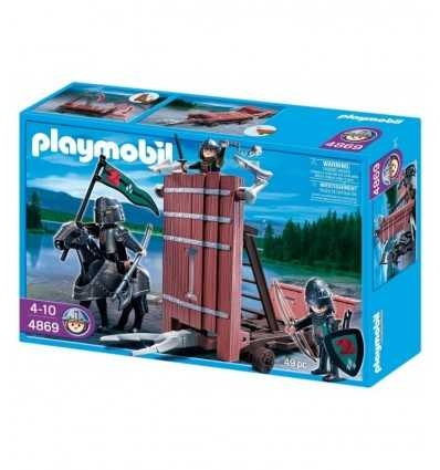 Playmobil 4869-Carro d'assalto dei cavalieri del Falcone 4869 Playmobil- Futurartshop.com