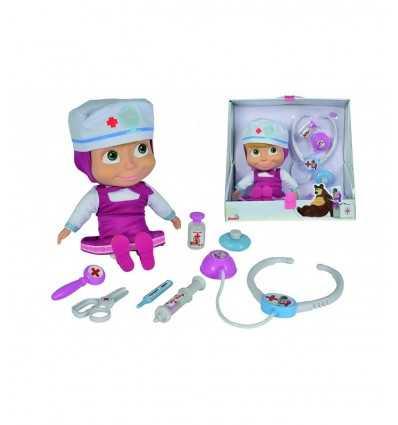masha dottoressa centimetri 30 con accessori 109306542 Simba Toys-Futurartshop.com
