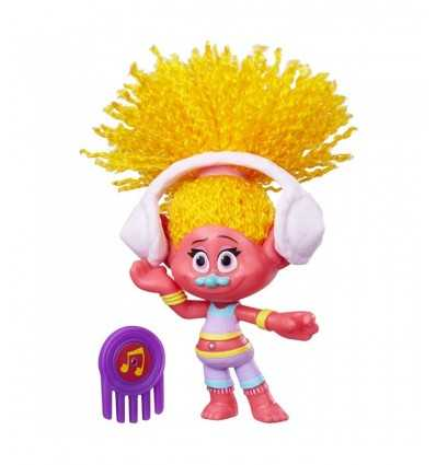 les trolls figurine dj suki B6555EU40/B7348 Hasbro- Futurartshop.com