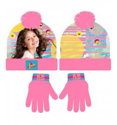 soy luna-most hat gloves set 2200001834 Cerdà- Futurartshop.com