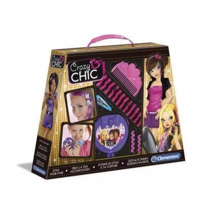Clementoni 15883 Crazy Chic, créez votre propre coiffure 15883 Clementoni- Futurartshop.com