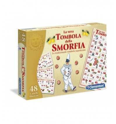 Clementoni 16543 Tombola Della Smorfia - 48 Cartelle 16543 Clementoni- Futurartshop.com