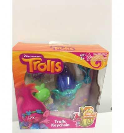 trolls character with clip branch TRL13000/1 Giochi Preziosi- Futurartshop.com
