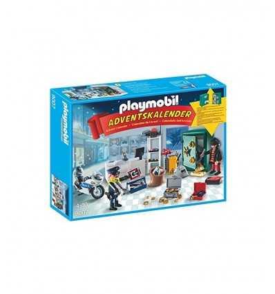 PLAYMOBIL calendrier de l'Avent pour attraper un voleur 9007 Playmobil- Futurartshop.com