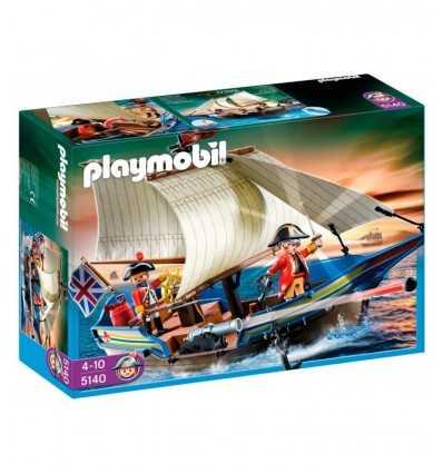Playmobil 5140 - Barca a vela con cannone 5140 Playmobil- Futurartshop.com