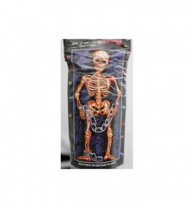 squelette de guirlande halloween contre-porte 68 x 150 cm - Futurartshop.com