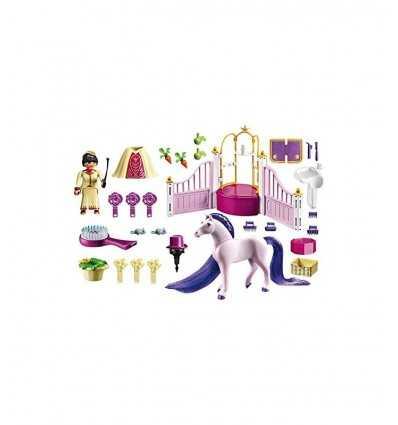 Playmobil establos reales con pura sangre 6855 Playmobil- Futurartshop.com