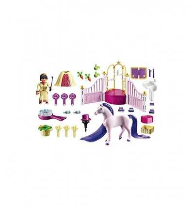 Playmobil royal stables with Thoroughbred 6855 Playmobil- Futurartshop.com