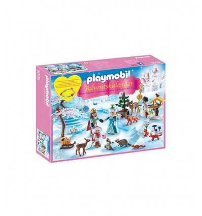 advent calendar on frozen lake 9008 Playmobil- Futurartshop.com