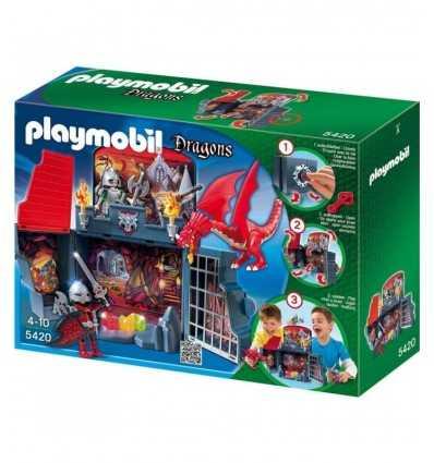 Playmobil 5420 - Cofanetto Grotta del Drago 5420 Playmobil- Futurartshop.com