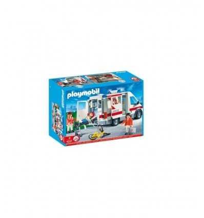 Playmobil-4221 ambulanciers 4221 Playmobil- Futurartshop.com