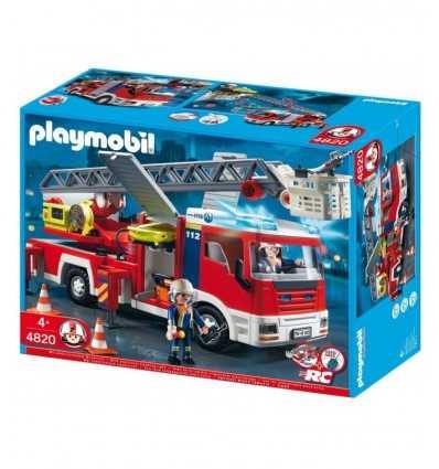Playmobil-4820 fire truck with ladder 4820 Playmobil- Futurartshop.com