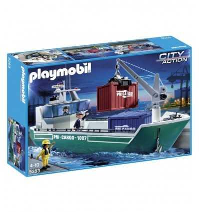 Playmobil 5253 - Nave Cargo con Gru di Carico 5253 Playmobil-Futurartshop.com