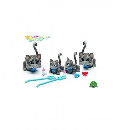pet parade deluxe family set 4 gatti striati PTF06000/2 Giochi Preziosi-Futurartshop.com