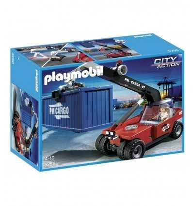 Playmobil 5256 - Carrello Elevatore per container 5256 Playmobil- Futurartshop.com