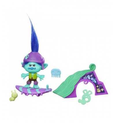 trolls personaggio branch skate'n skitter B6556EU00/B7353 Hasbro-Futurartshop.com