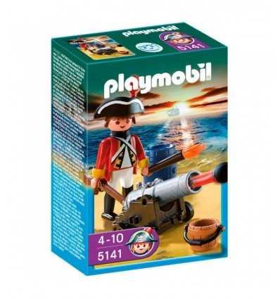 Playmobil 5141-Gunner Officer delle Giubbe Rosse 5141 Playmobil- Futurartshop.com