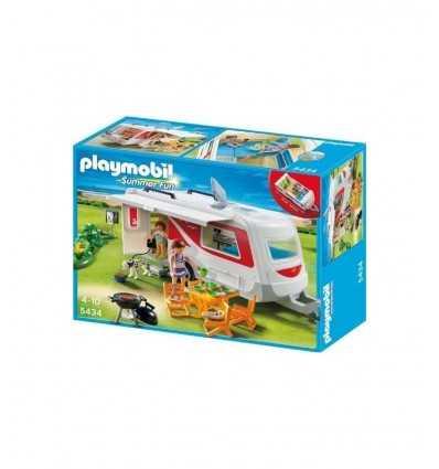 Playmobil 5434-caravane 5434 Playmobil- Futurartshop.com