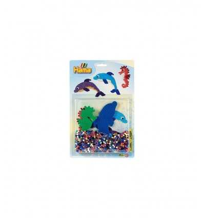 blister Kit base Dolphin with 1100 hama 4059/4058.AMA Hama- Futurartshop.com