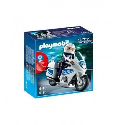 Playmobil 5185-policja Motorcycle 5185 Playmobil- Futurartshop.com