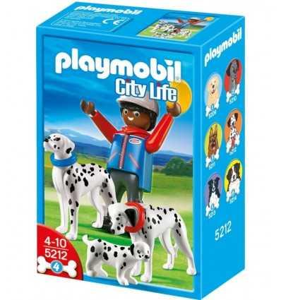 Playmobil City Dogs 5212 Omino with Dalmatian Family 5212 Playmobil- Futurartshop.com