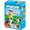 5213-Playmobil family of Border Collies 5213 Playmobil- Futurartshop.com