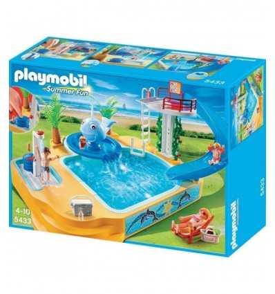 Playmobil 5433 - Piscina Divertente con Balena 5433 Playmobil- Futurartshop.com