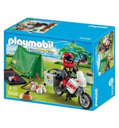 Playmobil 5438-Biker camp 5438 Playmobil- Futurartshop.com