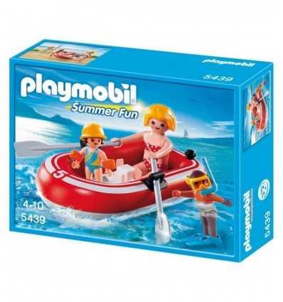 Playmobil-5439 bañistas usando inflable 5439 Playmobil- Futurartshop.com