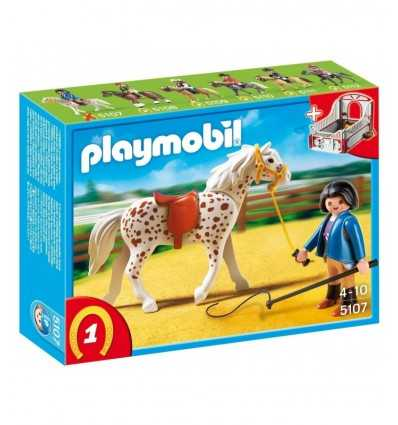 Playmobil 5107 - Cavallo pezzato Appaloosa 5107 Playmobil- Futurartshop.com