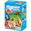 Playmobil 5209 - Famiglia di Golden Retriever 5209 Playmobil- Futurartshop.com