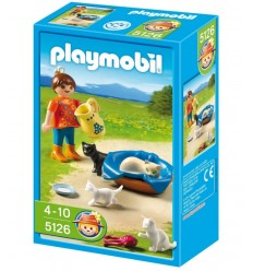 Playmobil 4867-triple Knights Catapult drapp