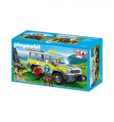 Playmobil 5427-off-road trips on mountain rescue 5427 Playmobil- Futurartshop.com