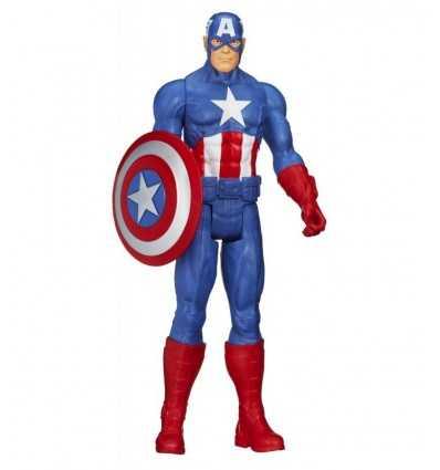 Hasbro 12 Titan Cap Avengers-Amerika A4809E270 A4809E270 Hasbro- Futurartshop.com