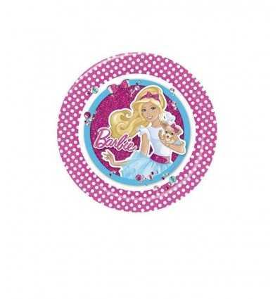 8 Piatti cm23 Barbie CMG200799 CMG200799 Como Giochi - Futurartshop.com